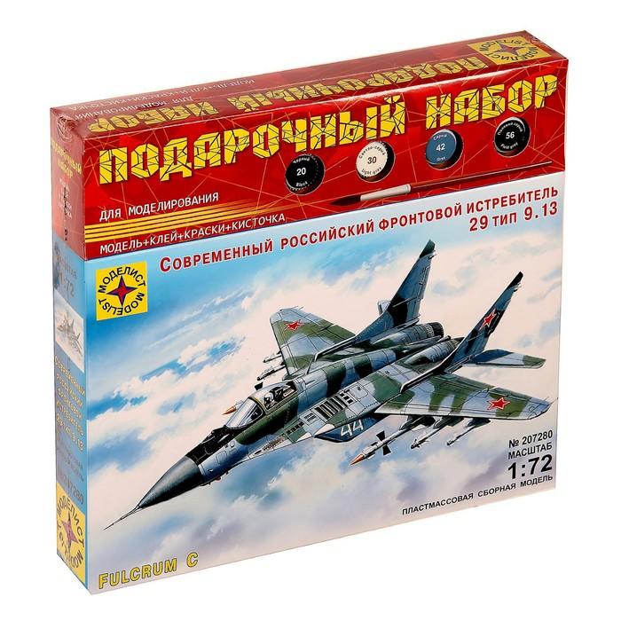 """Сборная модель """"Современный российский фронтовой истребитель МиГ-29"""""""
