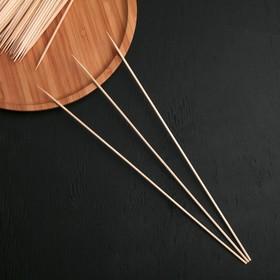 Шампуры деревянные 30 см Komfi, 100 шт.