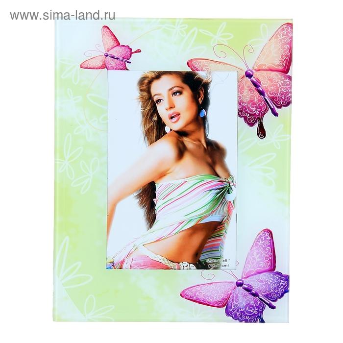 """Фоторамка """"Весенние бабочки"""" 10х15 см"""