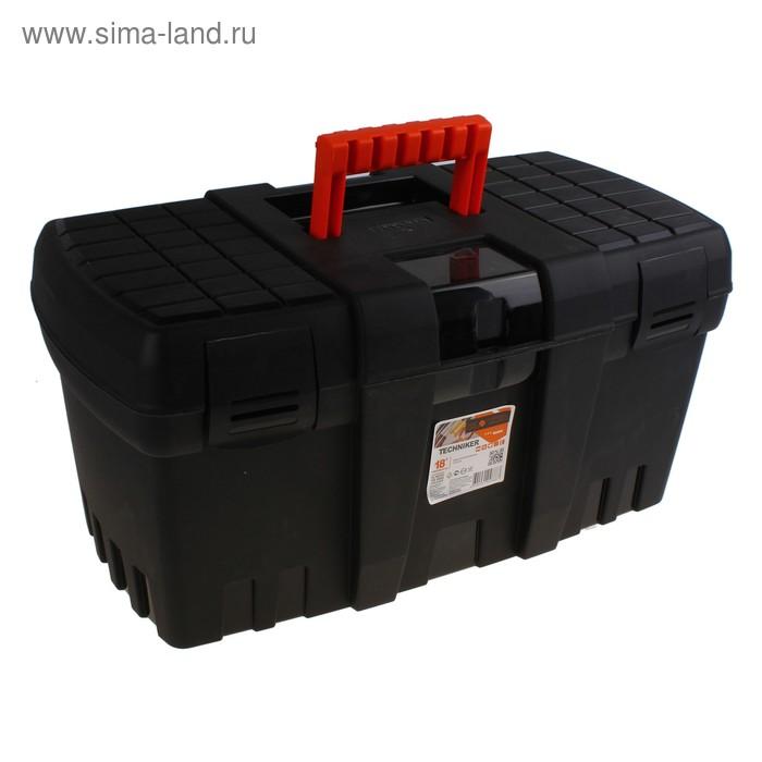 Ящик для инструментов Techniker 18, цвет черный