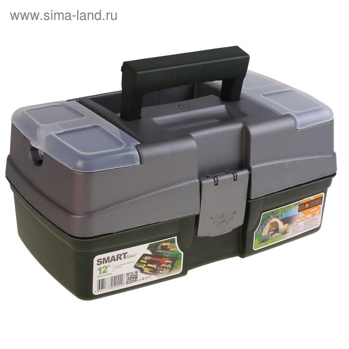 Ящик для инструментов Smart Tour 12, цвет темно-зеленый