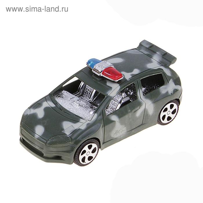 """Машина инерционная """"Военный надзор"""", цвета МИКС"""