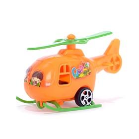 Вертолет инерционный, цвета МИКС