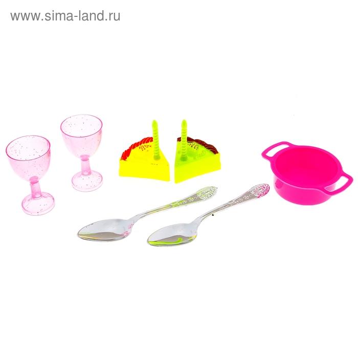 Набор посуды с продуктами, 7 предметов, МИКС