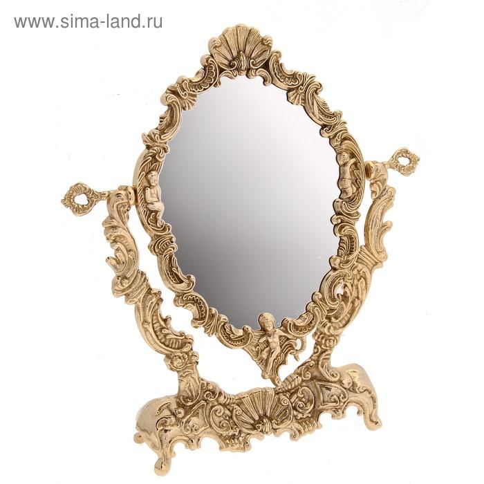 "Зеркало настольное ""Ракушка"""
