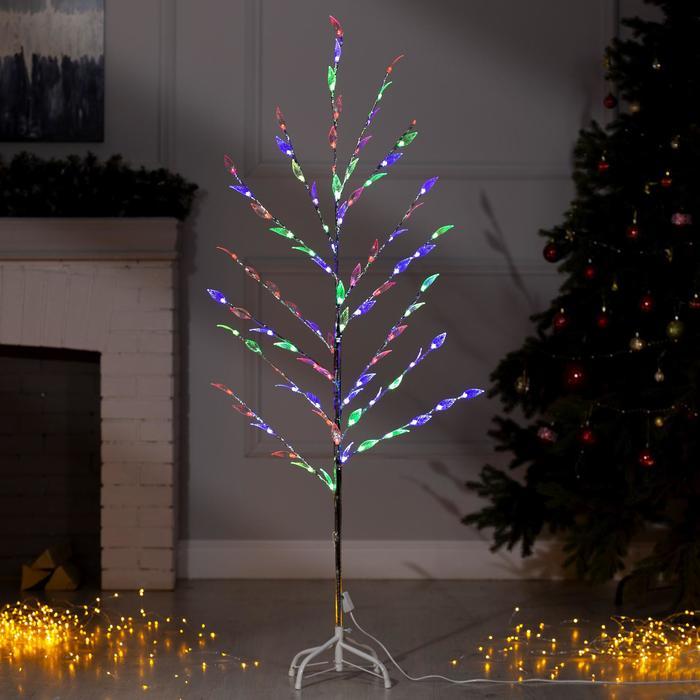 """Светодиодный куст уличный 1,5 м, """"Лепестки"""", 32 LED, 220V, моргает МУЛЬТИ"""