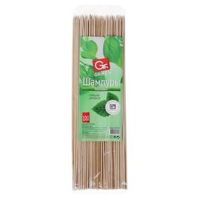 Шампуры деревянные 30 см Grifon, 100 шт.