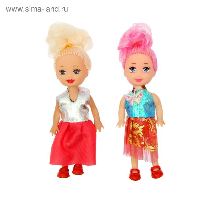"""Набор кукол """"Красотки"""" (набор 2 штуки), МИКС"""