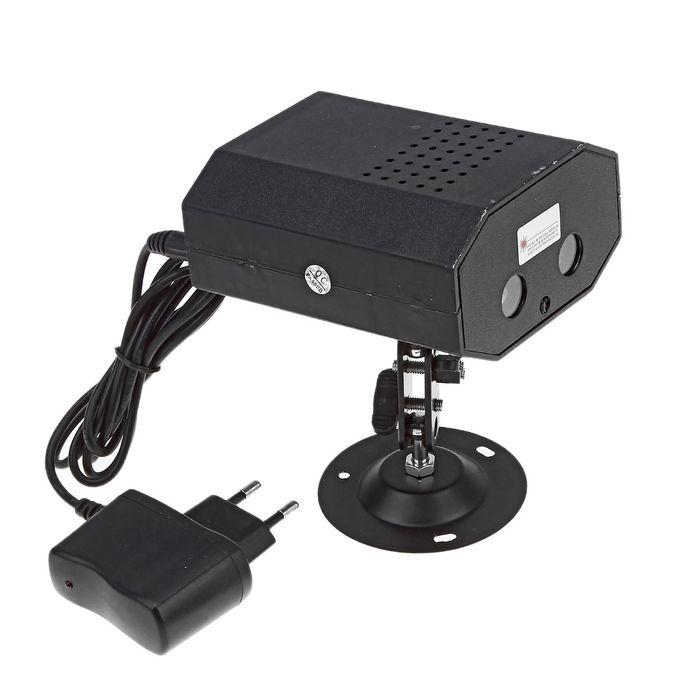 Световой прибор чёрный, V220 металл