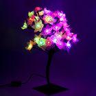 """Светодиодный куст уличный 0,3 м, """"Цветок большой"""", 32 LED, 220V, моргает МУЛЬТИ"""