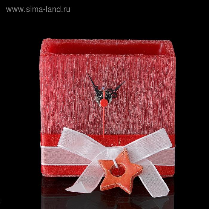 """Часы """"Звездочка"""", квадратные, аромат ягод"""
