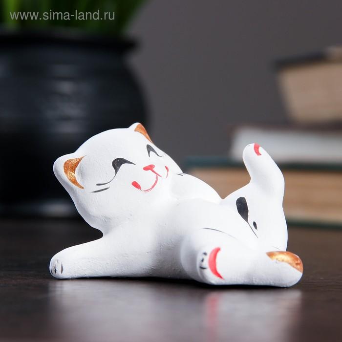 """Сувенир """"Котик с лапкой"""""""
