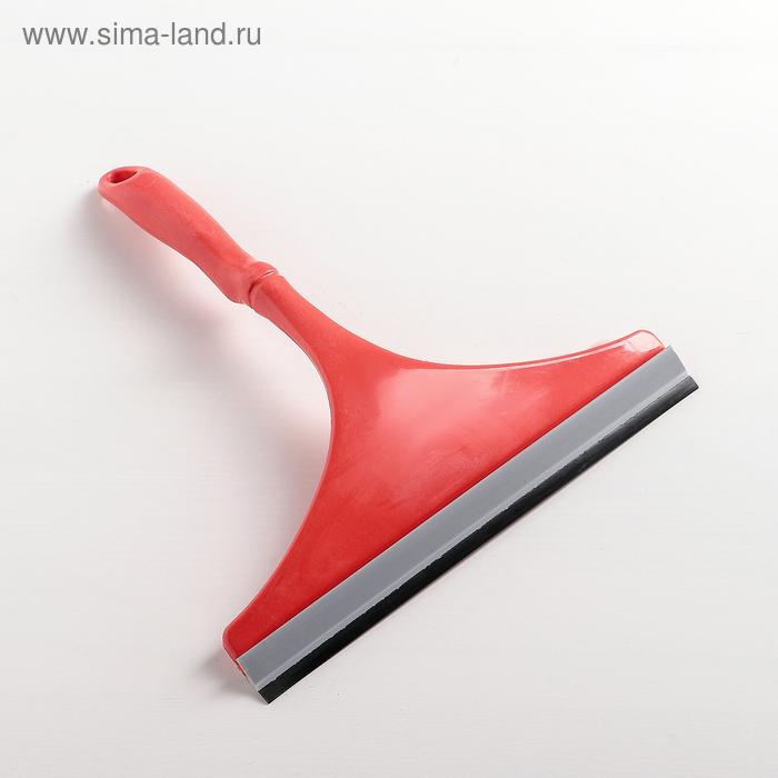 Водосгон с изогнутой ручкой, цвета МИКС