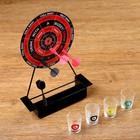 """Пьяная игра """"Пьяный дартс"""" на подставке: 4 рюмки"""