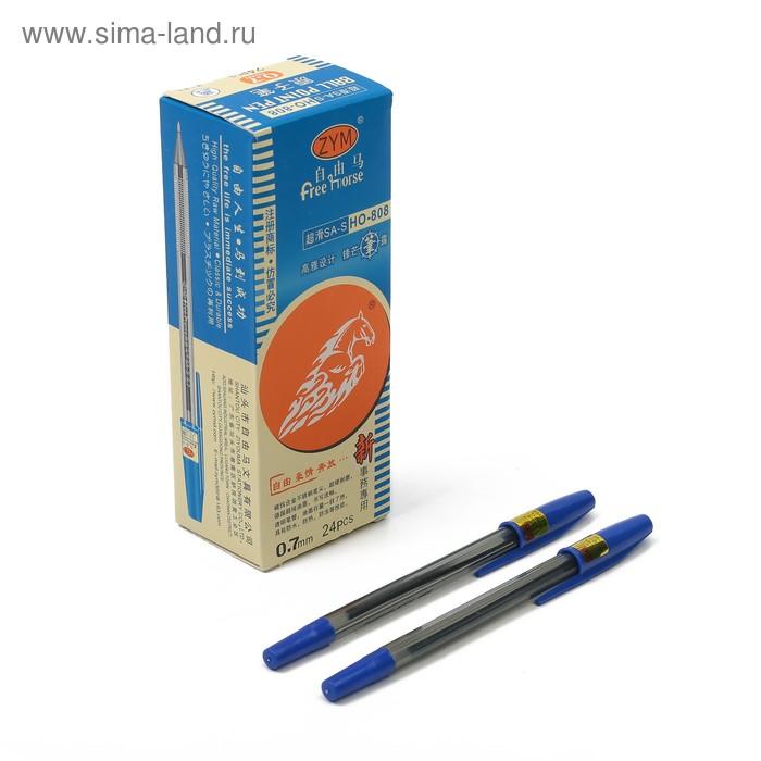 Ручка шариковая 1,0мм ZYM стержень синий