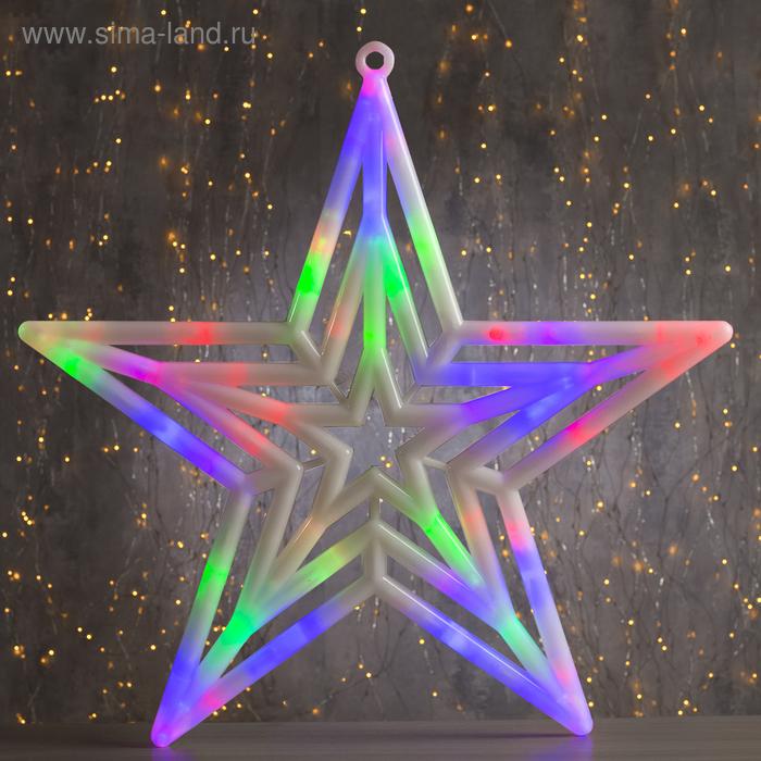 "Фигура ""Звезда"" d-60 см, , 30 LED, 220V, контрол. 8р. МУЛЬТИ"