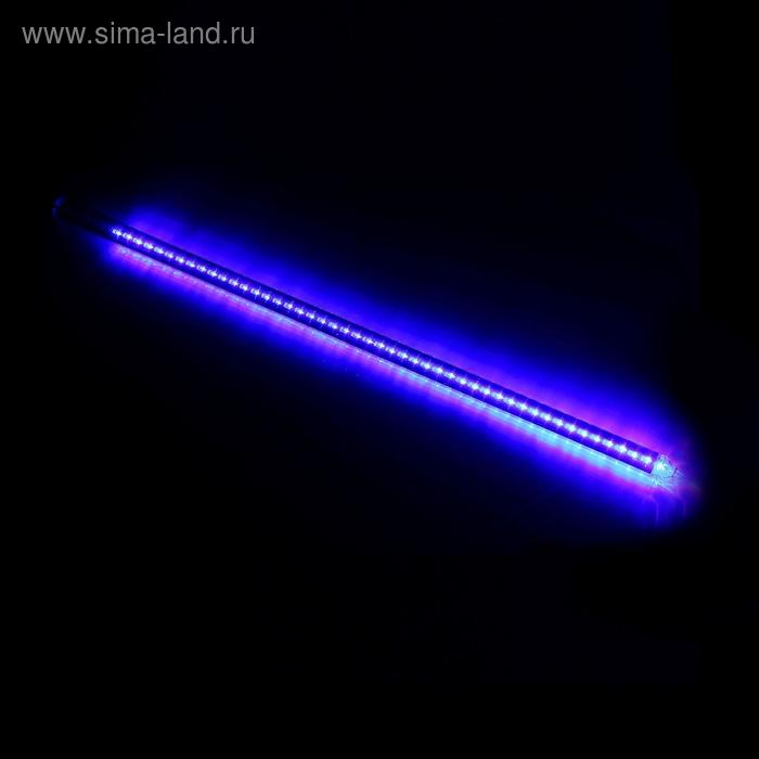 """Светодиодная сосулька """"Тающая"""", 0,8 м. d=2 см. LED-48-220V СИНИЙ"""