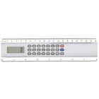Калькулятор-линейка 20см 8-разрядный корпус серебристый