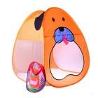 """Игровая палатка """"Пёс - Барбос"""", цвет оранжевый, без дна"""