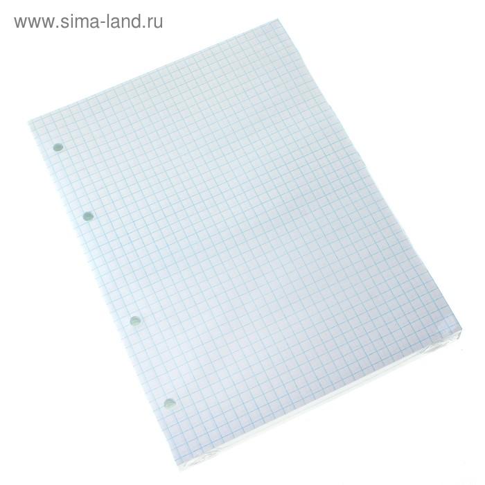 Сменный блок для тетрадей на кольцах А5, 160 листов клетка, офсет №1 60 гр/м2 белизна 100%