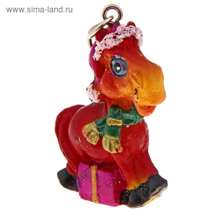 """Брелок """"Лошадь в колпачке"""", цвета МИКС"""