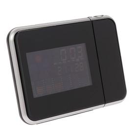 Часы проекционные, календарь, температура, будильник, микс