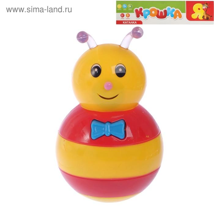"""Неваляшка музыкальная """"Пчелка"""", работает от батареек"""