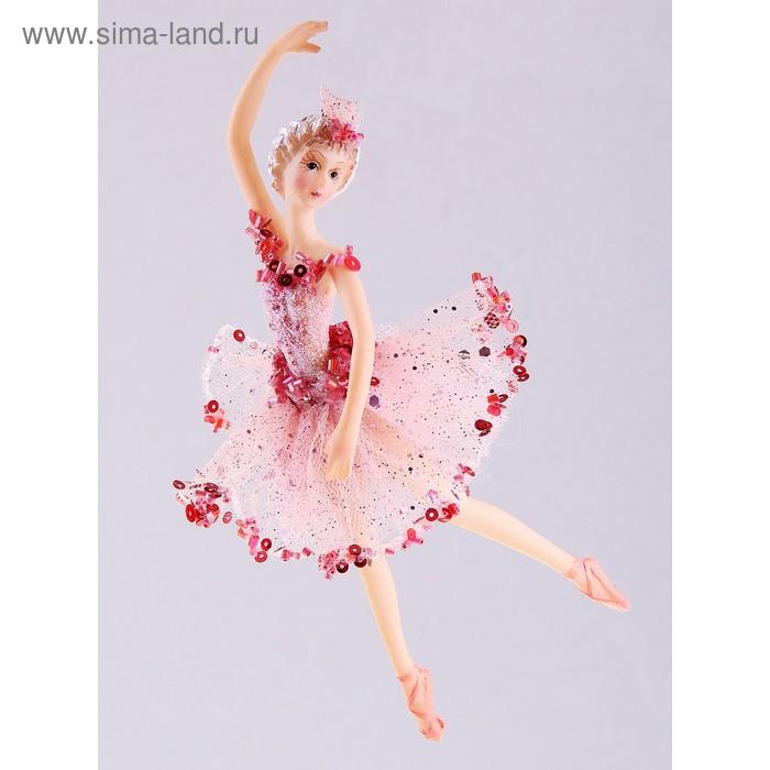 """Новогоднее украшение """"Балерина"""" взмах"""