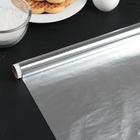 Фольга алюминиевая GRIFON стандартная 29 см х 10 м, 9 мкм, в пленке
