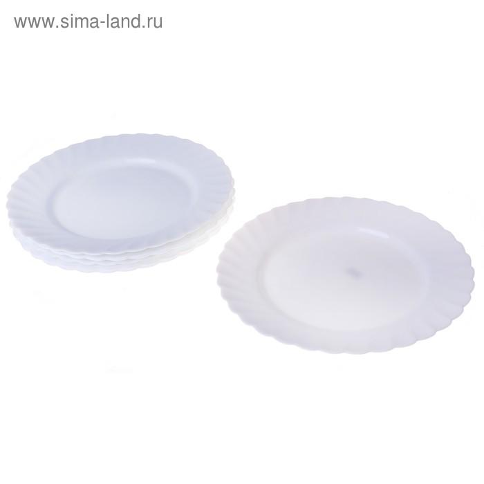 "Набор обеденных тарелок d=27 см ""Трианон"", 6 шт"