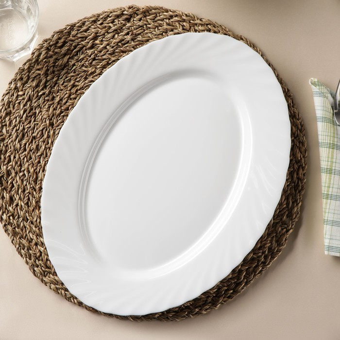 Блюдо овальное 35 см Trianon