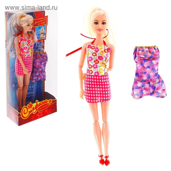"""Кукла шарнирная, топ-модель Стефани """"Фотосъёмки по миру: Лондон"""", МИКС"""