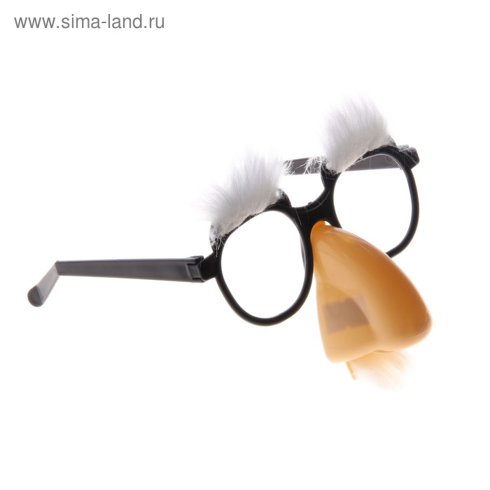 Очки-маска брови большой нос 17*4*19