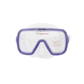 """Маска для плавания детская """"Волна"""", от 8 лет, цвета МИКС 55976 INTEX"""