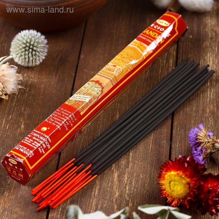 """Благовония """"HEM Precious Chandan"""" (Драгоценный Чандан), шестигранник, 20 палочек"""