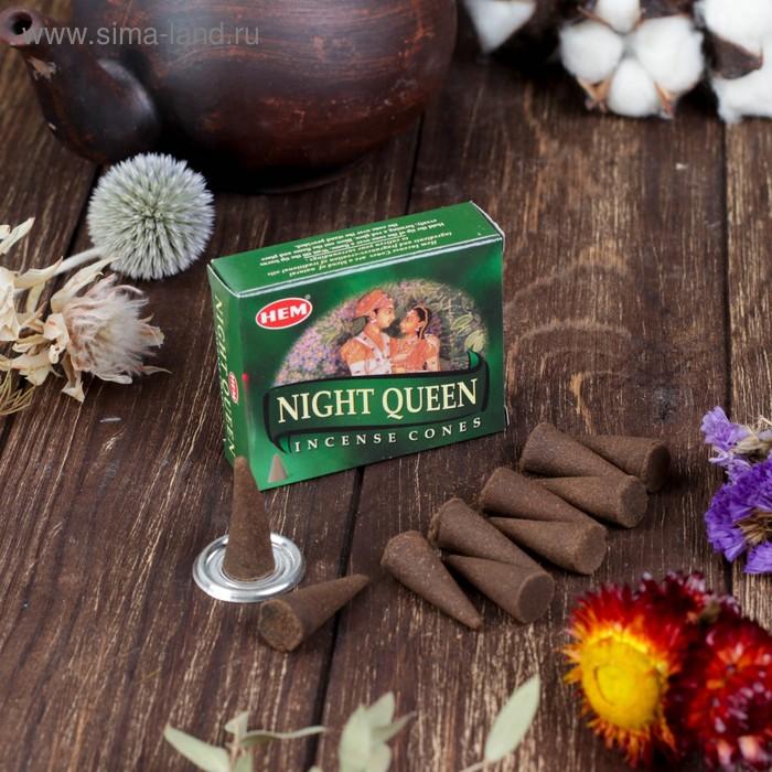 """Благовония """"HEM Night queen"""" (Королева ночи), 10 конусов"""