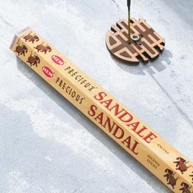 """Благовония """"HEM Sandal"""" (Сандал), шестигранник, 20 палочек"""