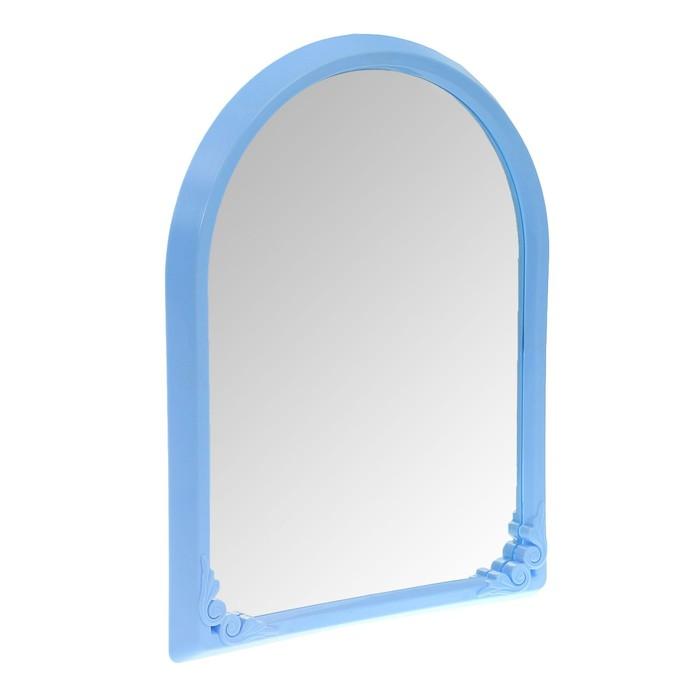 Зеркало в раме 49,5х39 см, цвет МИКС