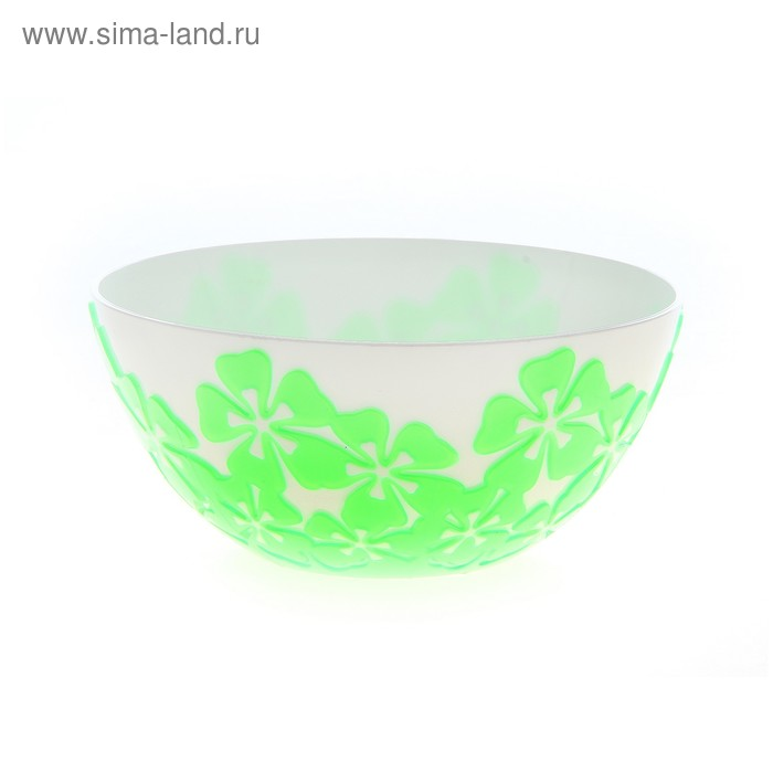 "Салатник 1,4 л ""Камелия"", зеленый"