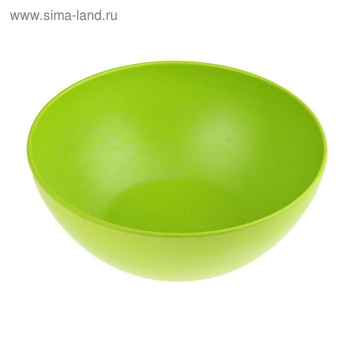 """Салатник 3 л """"Бамбуковый лес"""", 25х10 см, цвет зеленый"""