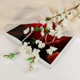 "Цветы искусственные ""Нежная сакура"" белая"