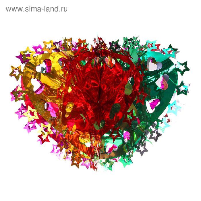 """Новогоднее украшение """"Сердце"""""""