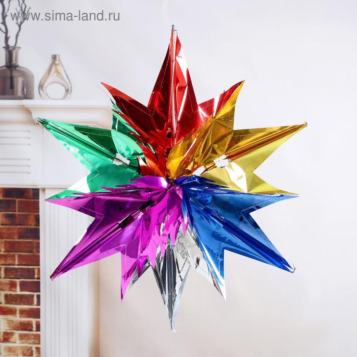 """Новогоднее украшение """"Яркая звезда"""""""