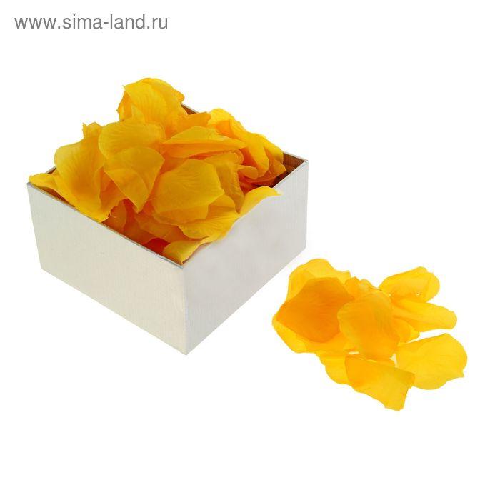 Лепестки роз (упаковка 150 шт), цвет желтый