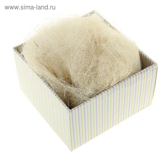 Наполнитель декоративный 50 гр белый, сизаль