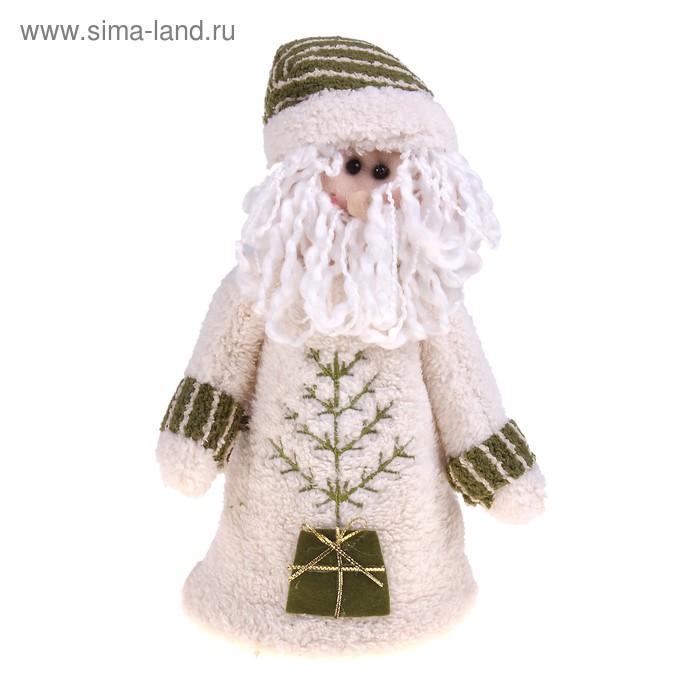 """Мягкая игрушка """"Дед Мороз в длинной шубе"""""""
