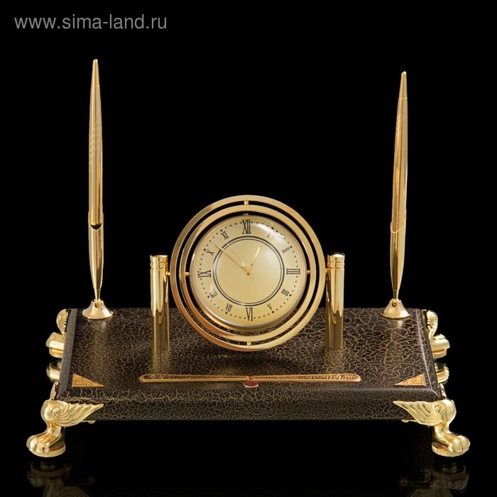 Набор настольный Titanic (часы, 2 ручки)