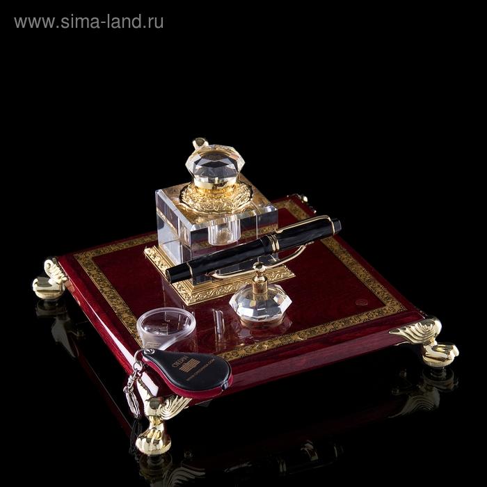 Набор настольный Shakespeare: ручка и чернильница
