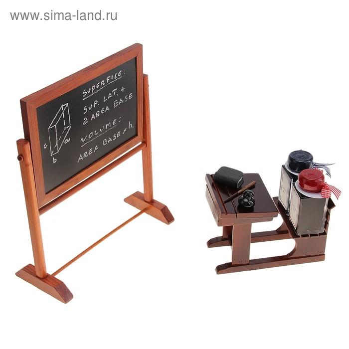 """Письменный набор """"Школа"""" (доска школьная, парта, чернила)"""