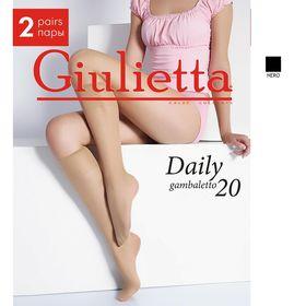 Гольфы Giulietta DAILY 20 (2 пары) (nero, 0) Ош